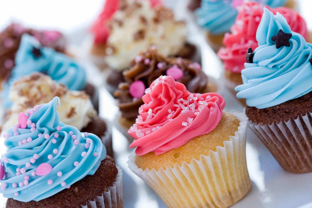 Cómo hacer fáciles cupcakes en casa