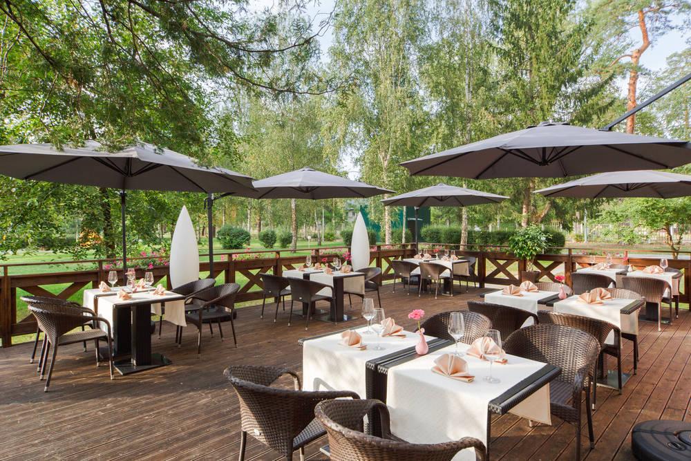 El restaurante debe concebido para disfrutar de una agradable experiencia